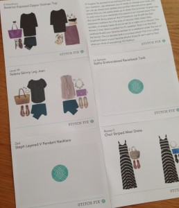 stitch fix - style card